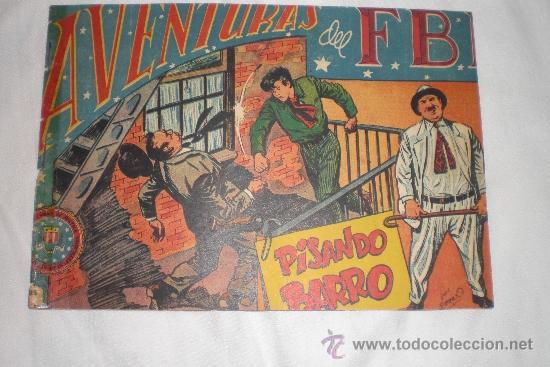 AVENTURAS DEL FBI Nº 128 (Tebeos y Comics - Rollán - FBI)
