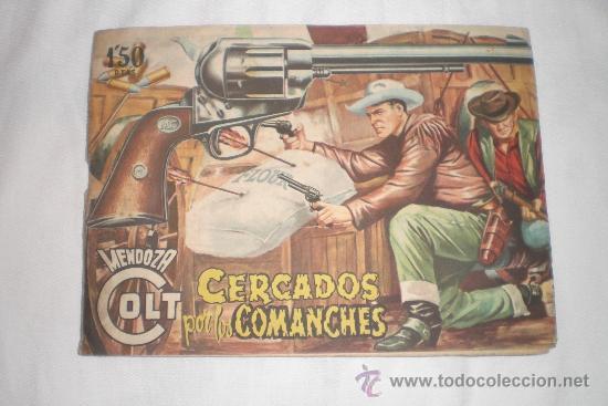 MENDOZA COLT Nº 20 (Tebeos y Comics - Rollán - Mendoza Colt)
