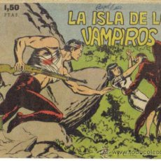 Tebeos: AVENTURAS DEL F.B.I. Nº 12. LA ISLA DE LOS VAMPIROS. ORIGINAL ROLLAN.. Lote 34125211