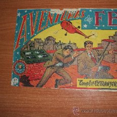 Tebeos: AVENTURAS DEL F.B.I. Nº 160 EDITORIAL ROLLÁN 1951 ORIGINAL . Lote 34416456