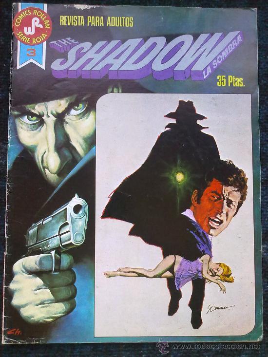 THE SHADOW. LA SOMBRA. Nº 3. EL REINADO DE LA COBRA (Tebeos y Comics - Rollán - Series Rollán (Azul, Roja, etc))