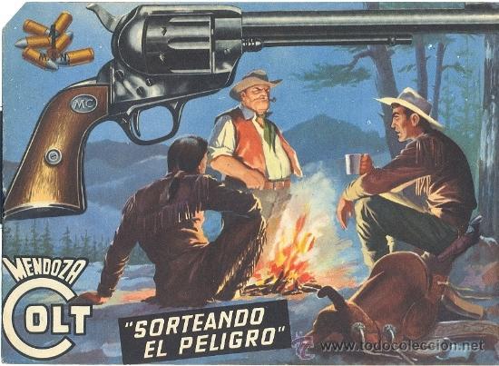 MENDOZA COLT Nº 21 (Tebeos y Comics - Rollán - Mendoza Colt)