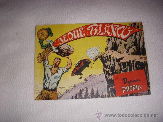 JEQUE BLANCO Nº 55, EDITORIAL ROLLÁN (Tebeos y Comics - Rollán - Jeque Blanco)