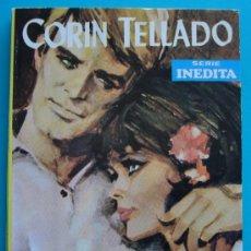 Tebeos: NOVELA DE CORIN TELLADO, SERIE INEDITA 1968, Nº 133, EDITORIAL ROLLAN, S. A. - NO TRATE DE ENGAÑARTE. Lote 35929171