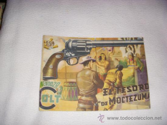 MENDOZA COLT Nº 6, EDITORIAL ROLLÁN (Tebeos y Comics - Rollán - Mendoza Colt)