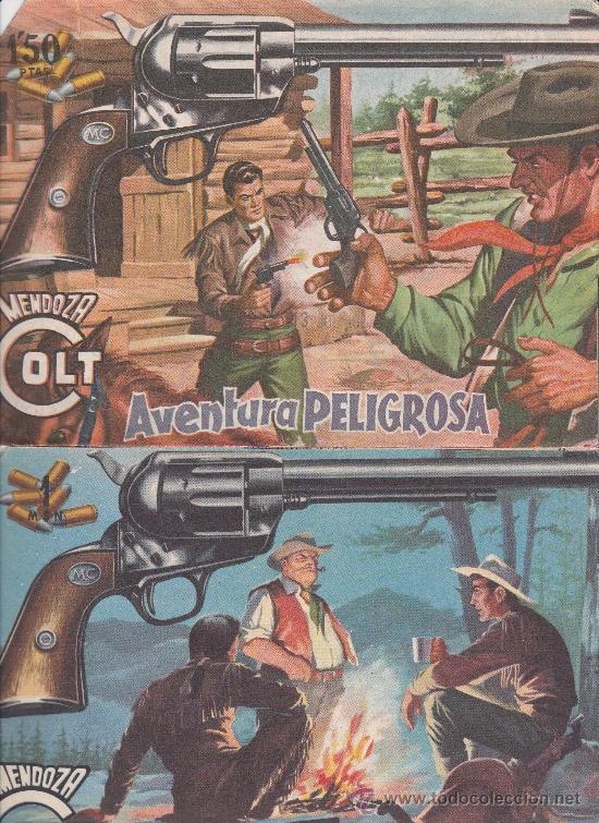 MENDOZA COLT ,LOTE DE 13NºS. (Tebeos y Comics - Rollán - Mendoza Colt)