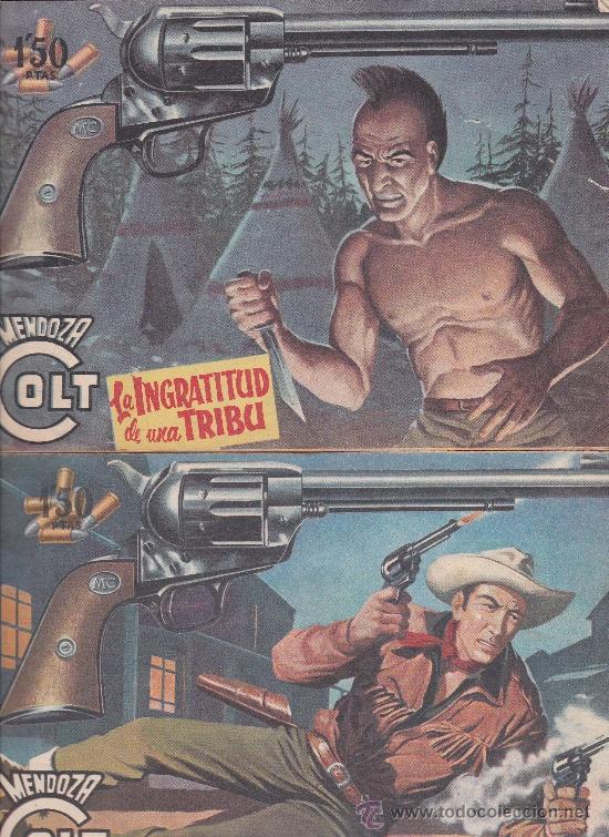 Tebeos: Mendoza Colt ,lote de 13nºs. - Foto 2 - 36780968