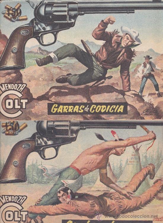 Tebeos: Mendoza Colt ,lote de 13nºs. - Foto 3 - 36780968