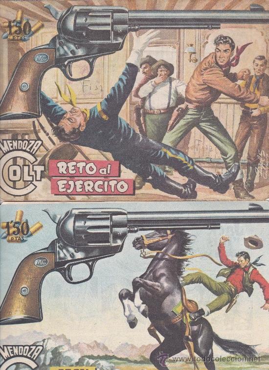 Tebeos: Mendoza Colt ,lote de 13nºs. - Foto 4 - 36780968