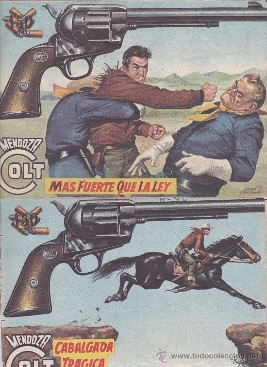 Tebeos: Mendoza Colt ,lote de 13nºs. - Foto 5 - 36780968