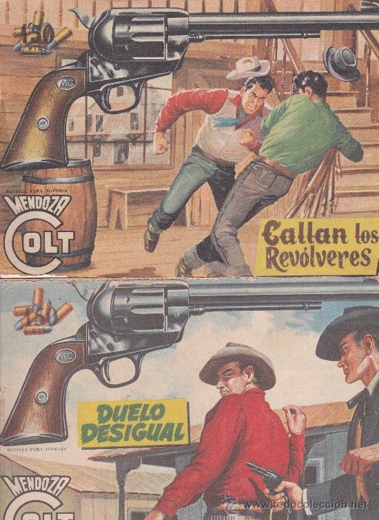 Tebeos: Mendoza Colt ,lote de 13nºs. - Foto 6 - 36780968