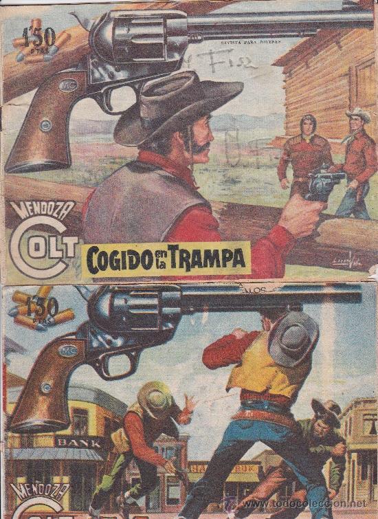Tebeos: Mendoza Colt ,lote de 13nºs. - Foto 7 - 36780968