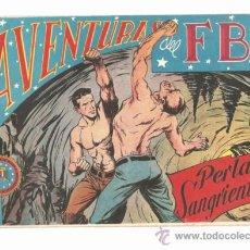 Tebeos: AVENTURAS DEL FBI , NUMERO 105 PERLAS SANGRIENTAS. Lote 37295843