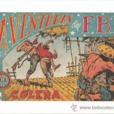 Tebeos: AVENTURAS DEL FBI , NUMERO 68 COLERA. Lote 37300805