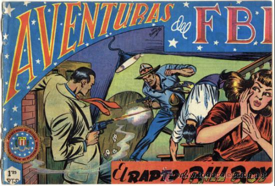 AVENTURAS DEL F.B.I. - NÚM. 14 - (1.25 PTS.) - EL RAPTO DE BILL BOY (Tebeos y Comics - Rollán - FBI)