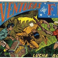 Tebeos: AVENTURAS DEL F.B.I. - NÚM. 16 - (1.25 PTS.) - LUCHA EN BORNEO. Lote 37403918