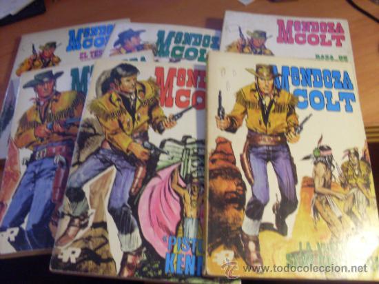 MENDOZA COLT . LOTE COLECCION COMPLETA TACO 1 AL 6 ( ED. ROLLAN) (COIB11) (Tebeos y Comics - Rollán - Mendoza Colt)