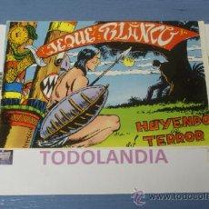 Tebeos: COMICLANDIA:COMIC DE EL JEQUE BLANCO Nº68,HUYENDO DEL TERROR,DE EDITORIAL ROLLAN. Lote 37663908