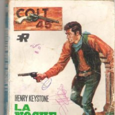 Tebeos: 1 NOVELA OESTE AÑO 1969 - LA NOCHE DE LOS MALDITOS Nº 108 -( HENRY KEYSTONE - ROLLAN ). Lote 39349684