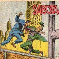 Tebeos: AVENTURAS DEL FBI - SABOTAJE - ORIGINAL - EDITORIAL ROLLAN - AÑOS 50.. Lote 39398520