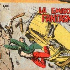 Tebeos: AVENTURAS DEL FBI - LA EMISORA FANTASMA - ORIGINAL - EDITORIAL ROLLAN - AÑOS 50.. Lote 39401820