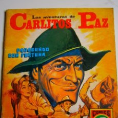 Tebeos: COMIC LAS AVENTURAS DE CARLITOS PAZ. NUMERO 12 VAGABUNDO CON FORTUNA. Lote 39857000