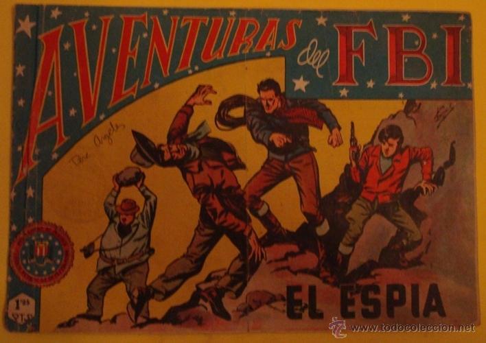 AVENTURAS DEL FBI - EL ESPIA NO.131 (Tebeos y Comics - Rollán - FBI)