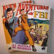 Tebeos: AVENTURAS DEL FBI. NÚMEROS 1 Y 2. Lote 39932681