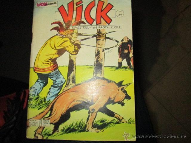 VICK 34 ROCK VANGUARD DELTA 99 Y SOLANO LOPEZ 164 PAGINAS VENDIDO EN ESPAÑA VER DETALLE PORTADA (Tebeos y Comics - Rollán - Rock Vanguard)