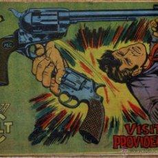 Tebeos: MENDOZA COLT Nº 84 VISITA PROVIDENCIAL EDITORIAL ROLLÁN AÑO 1959. Lote 41308530