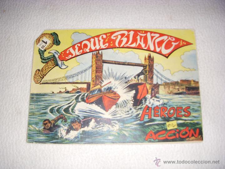 JEQUE BLANCO Nº 18, EDITORIAL ROLLÁN (Tebeos y Comics - Rollán - Jeque Blanco)