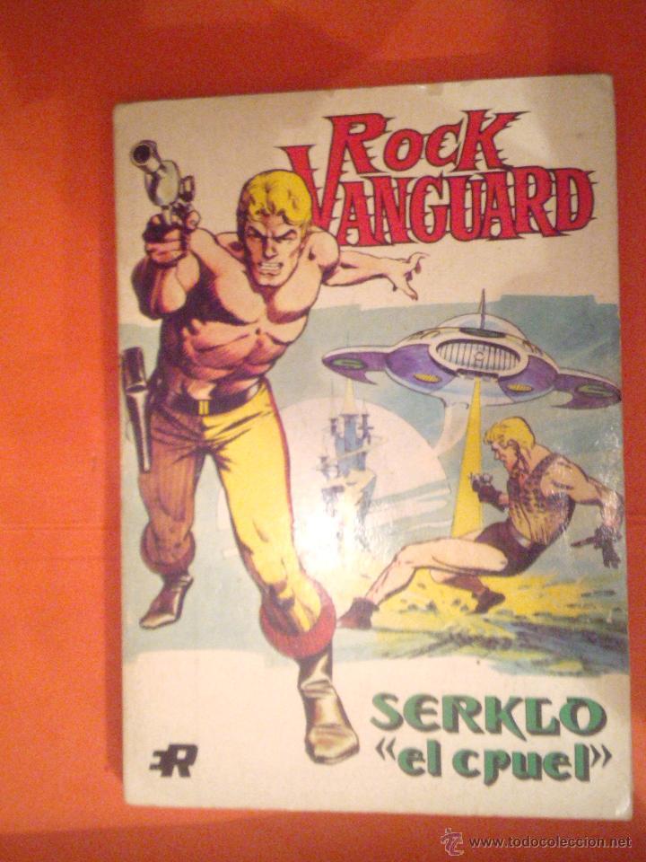 ROCK VANGUARD - SERKLO EL CRUEL- NUMERO 2 ´MUY BUEN ESTADO CJ 3 (Tebeos y Comics - Rollán - Rock Vanguard)