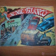 Tebeos: JEQUE BLANCO Nº 17 ORIGINAL EDITORIAL ROLLAN 1952. Lote 42445279