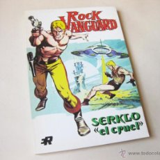 Tebeos: EDITORIAL ROLLAN - ROCK VANGUARD NUMERO 2 - SERKLO EL CRUEL - INMEJORABLE ESTADO. Lote 42568193