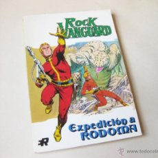 Tebeos: EDITORIAL ROLLAN - ROCK VANGUARD NUMERO 4 - EXPEDICION A RODOMA - INMEJORABLE ESTADO. Lote 42568305
