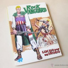 Tebeos: EDITORIAL ROLLAN - ROCK VANGUARD NUMERO 6 - LUCHA POR UN TRONO - INMEJORABLE ESTADO. Lote 42568480