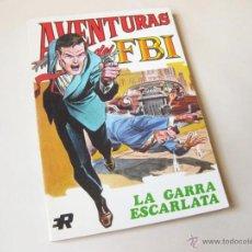 Tebeos: EDITORIAL ROLLAN - AVENTURAS DE FBI NUMERO 2 - LA GARRA ESCARLATA - INMEJORABLE ESTADO. Lote 42568621