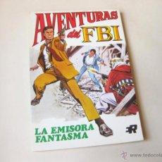 Tebeos: EDITORIAL ROLLAN - AVENTURAS DE FBI NUMERO 3 - LA EMISORA FANTASMA - INMEJORABLE ESTADO. Lote 42568631