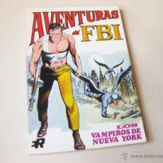 Tebeos: EDITORIAL ROLLAN - AVENTURAS DE FBI NUMERO 4 - LOS VAMPIROS DE NUEVA YORK - INMEJORABLE ESTADO. Lote 42568654