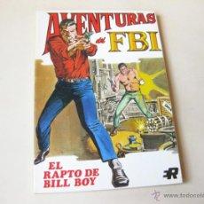 Tebeos: EDITORIAL ROLLAN - AVENTURAS DE FBI NUMERO 5 - EL RAPTO DE BILL BOY. Lote 42568714