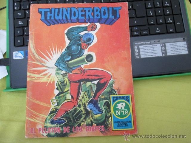 THUNDERBOLT EL PELOTON DE LOS TORPES ROLLAN MUY BUEN ESTADO (Tebeos y Comics - Rollán - Series Rollán (Azul, Roja, etc))