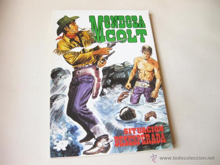 EDITORIAL ROLLAN - MENDOZA COLT NUMERO 2 - SITUACION DESESPERADA - INMEJORABLE ESTADO (Tebeos y Comics - Rollán - Mendoza Colt)