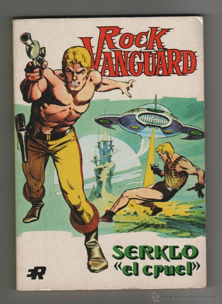 ROCK VANGUARD - SERKLO EL CRUEL Nº2. (Tebeos y Comics - Rollán - Rock Vanguard)