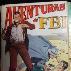 Tebeos: AVENTURAS DEL FBI Nº 6. Lote 42856461