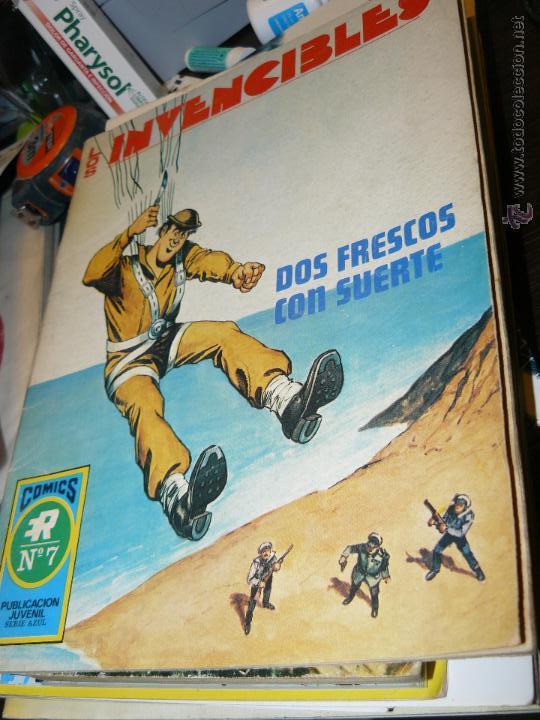 TEBEOS-COMICS CANDY - LOS INVENCIBLES - ROLLAN - 1973 - Nº 7 - DIFICIL *DD99 (Tebeos y Comics - Rollán - Series Rollán (Azul, Roja, etc))