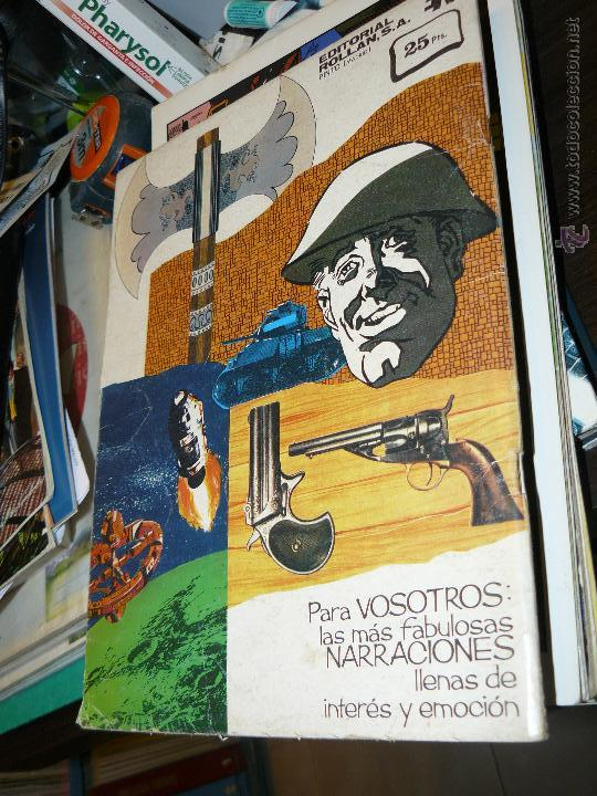Tebeos: TEBEOS-COMICS CANDY - LOS INVENCIBLES - ROLLAN - 1973 - Nº 7 - DIFICIL *DD99 - Foto 2 - 43093260