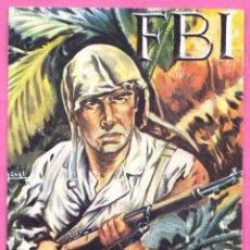 Tebeos: CARTELITO PUBLICITARIO DE LOS TEBEOS FBI. EL MEJOR REGALO DE PASCUAS.. Lote 44172395