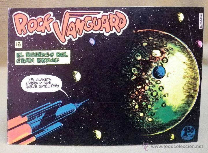 COMIC, ROCK VANGUARD, EL REGRESO DEL GRAN BRUJO, Nº 18, ROLLAN (Tebeos y Comics - Rollán - Rock Vanguard)