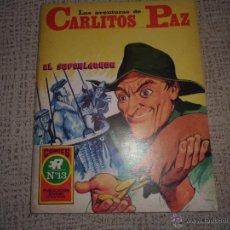 Tebeos: CARLITOS PAZ Nº 13 EDITORIAL ROLLAN. Lote 44619508