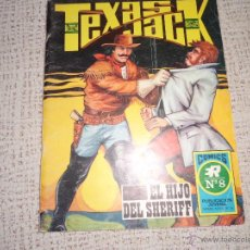Tebeos: TEXAS JACK Nº 8 EDITORIAL ROLLAN. Lote 44619556